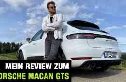 2020 Porsche Macan GTS (380 PS), Jan Weizenecker