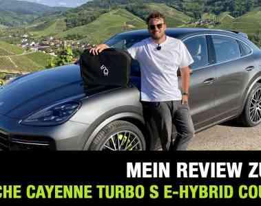 2020 Porsche Cayenne Turbo S E-Hybrid Coupé (680 PS) - Fahrbericht | Review | Test | Sound | PHEV