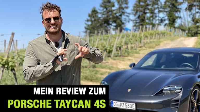 2020 Porsche Taycan 4S (571 PS) Fahrbericht | Full Review | Test-Drive | Launch Control | Sound, Jan Weizenecker