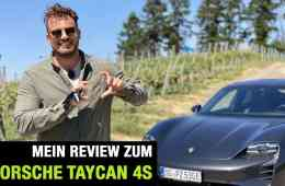 2020 Porsche Taycan 4S (571 PS) Fahrbericht   Full Review   Test-Drive   Launch Control   Sound, Jan Weizenecker