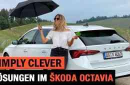 Skoda Octavia (2020) - Die Simply Clever Lösungen im Test - Review | Anhängerkupplung | Kofferraum
