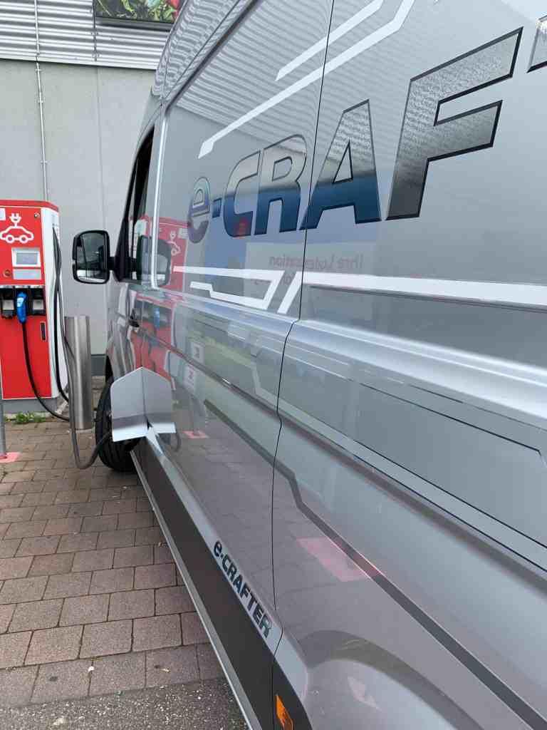 Der VW e-Crafter: Kleintransport ohne lokale Abgas-Emissionen