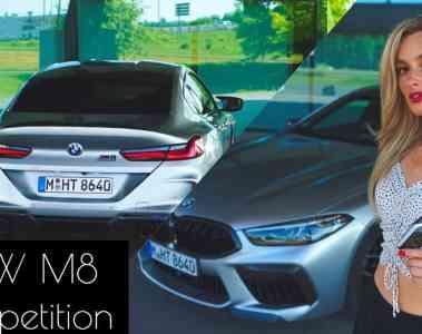BMW M8 Gran Coupé Competition (2020), Nina Weizenecker