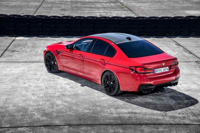 BMW pflegt M5 und M5 Competition