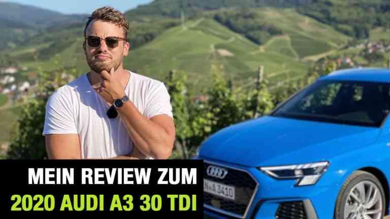 """Audi A3 Sportback 30 TDI """"S Line"""", Jan Weizenecker"""