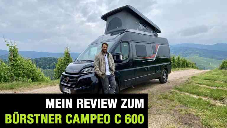 Bürstner Campeo C 600, Jan Weizenecker