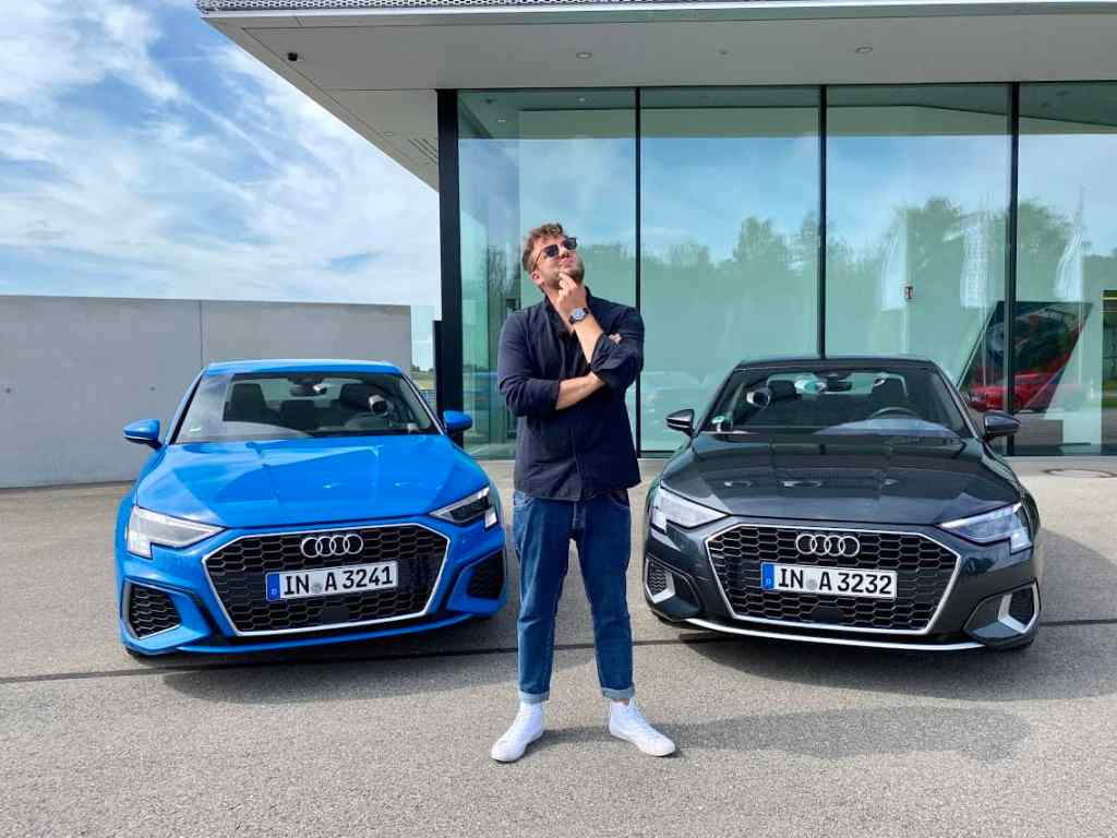"2020 Audi A3 Limousine 35 TDI ""S line"" vs. 35 TFSI ""edition one"" (150PS) Fahrbericht 