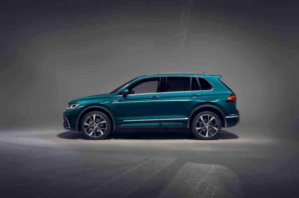 Leichtes Facelift für den VW Tiguan (2020)