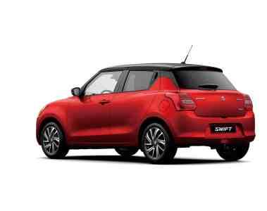 Suzuki Swift , Facelift , Modelljahr 2020