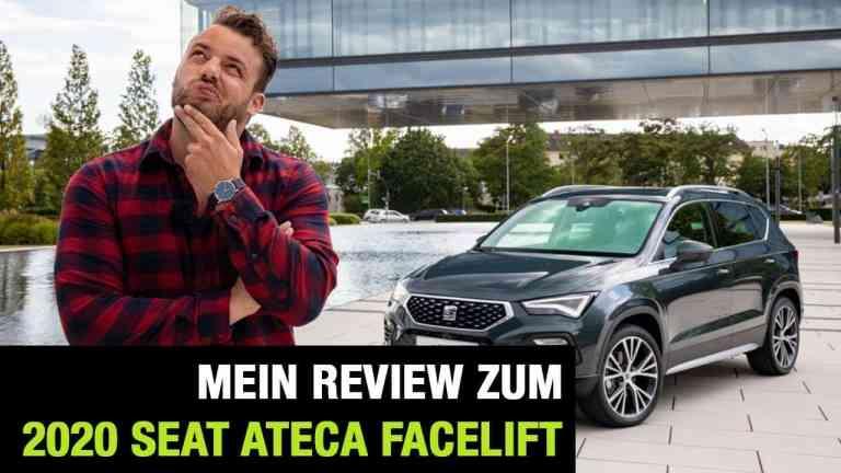 2020 Seat Ateca Facelift - Die Weltpremiere: Review   Test   Interieur   Sitzprobe   Motoren   MIB 3, Jan Weizenecker