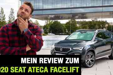 2020 Seat Ateca Facelift - Die Weltpremiere: Review | Test | Interieur | Sitzprobe | Motoren | MIB 3, Jan Weizenecker
