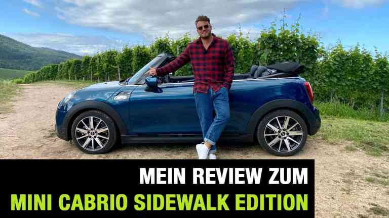 "2020 MINI Cooper S Cabrio Sidewalk Edition (192 PS) - ""Oben Ohne"" - Fahrbericht | Review | Test, Jan Weizenecker"