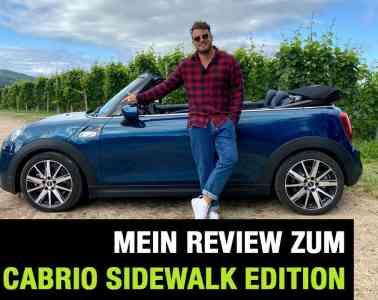 "2020 MINI Cooper S Cabrio Sidewalk Edition (192 PS) - ""Oben Ohne"" - Fahrbericht   Review   Test, Jan Weizenecker"
