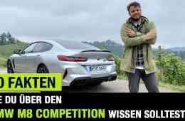 10 Fakten, die DU über DEN BMW M8 Competition wissen solltest! - Fahrbericht | Review | Test | POV!