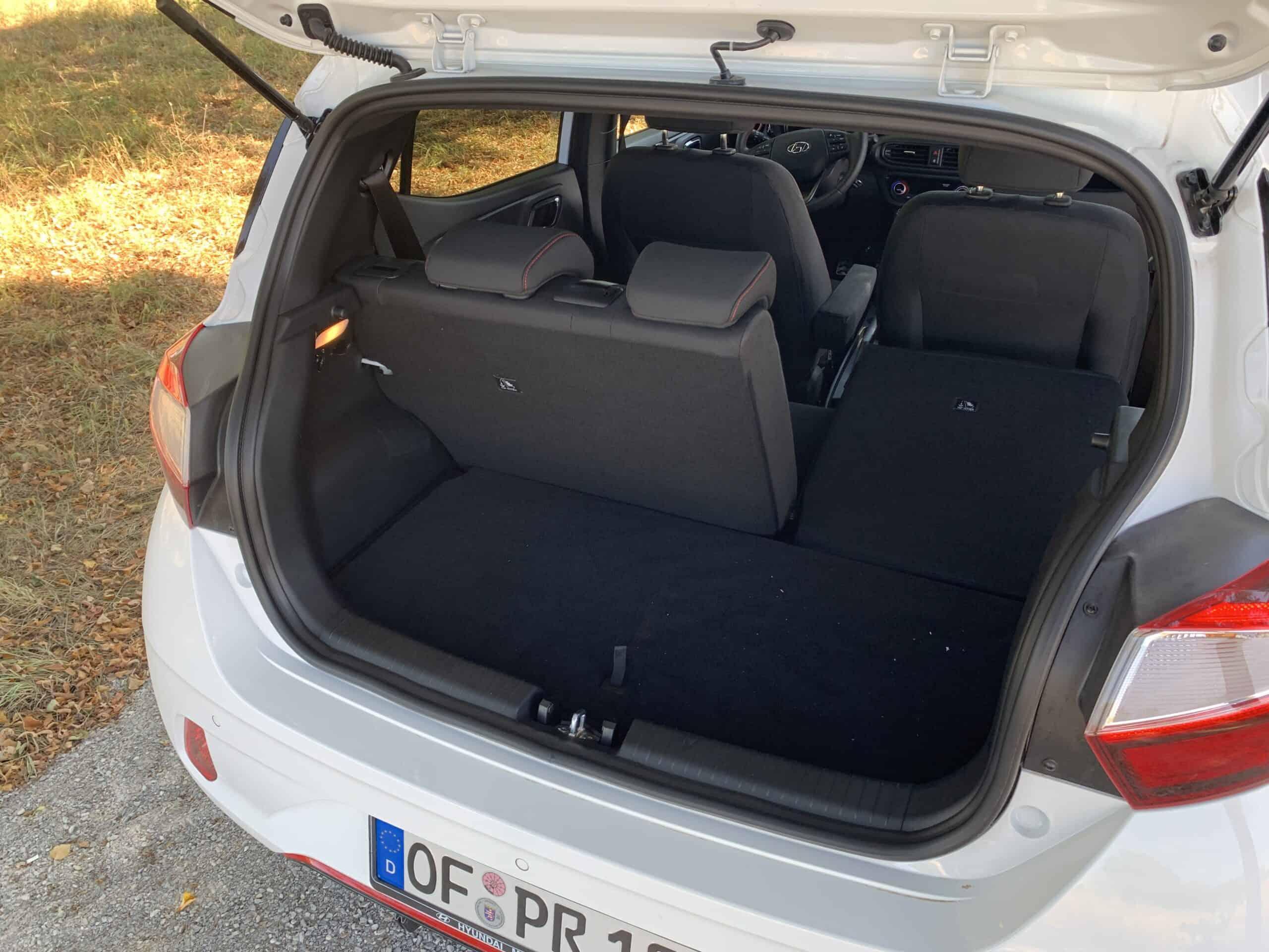 2020 Hyundai i10 N-Line (100 PS) - Ratio trifft sportliche Schönheit, Kofferraum