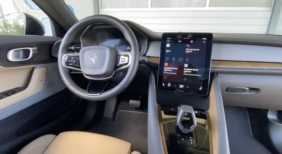Polestar 2 - Was kann das Google Betriebssystem? Innenraum Check - Review   Test   Android Auto OS