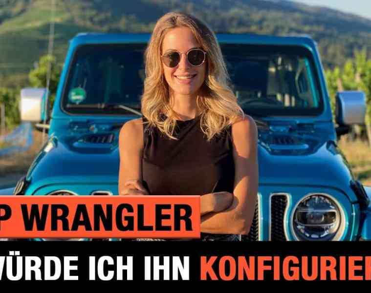 Bikini Jeep Wrangler - So würde ich ihn konfigurieren! Review | POV | Unlimited JL Sahara | 2020