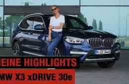 BMW X3 xDrive30e (2020) - Meine 5 Highlights vom Plug-in Hybriden! - Review | Test | CarPorn