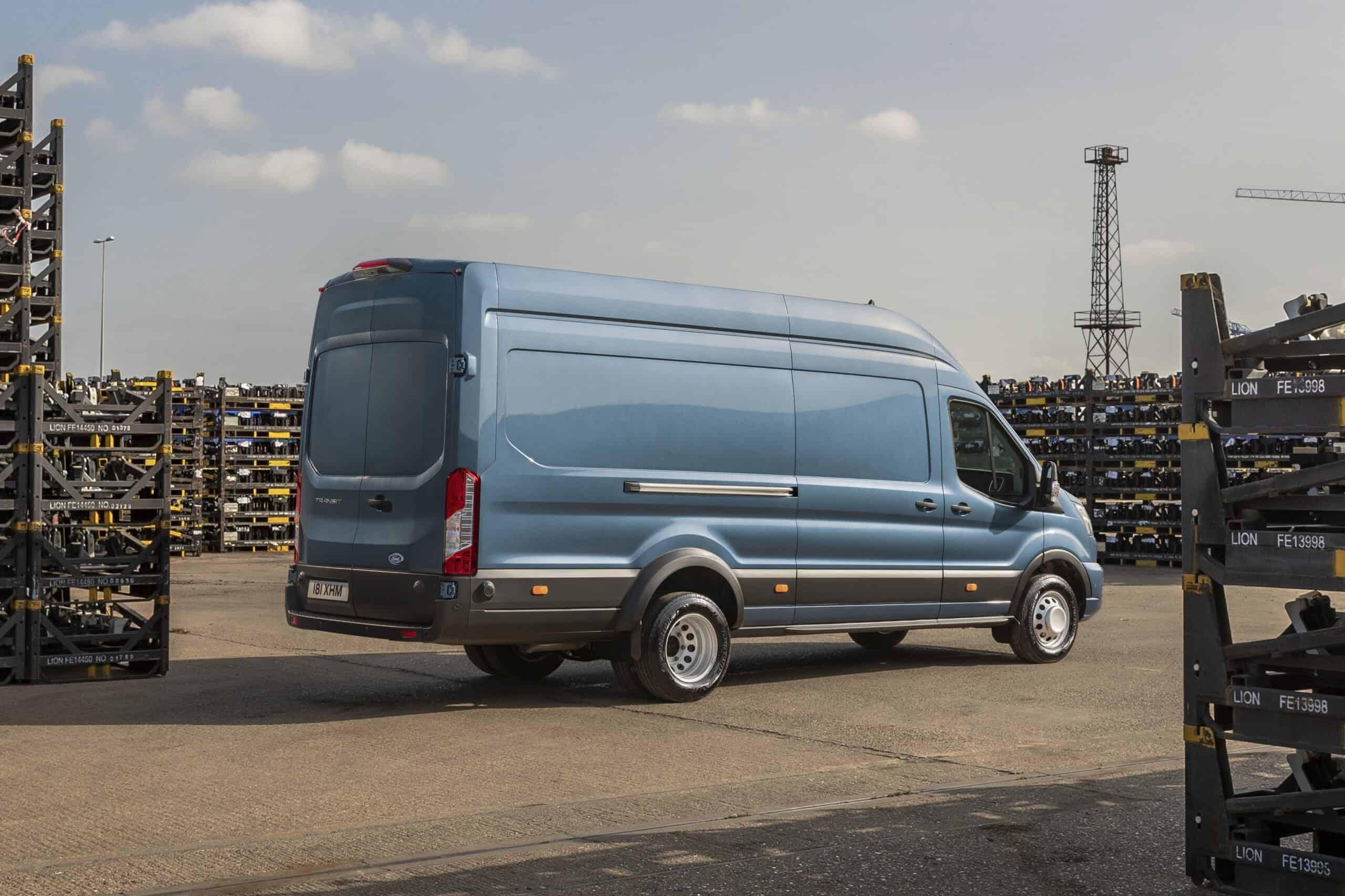 Ford Transit als 5-Tonner