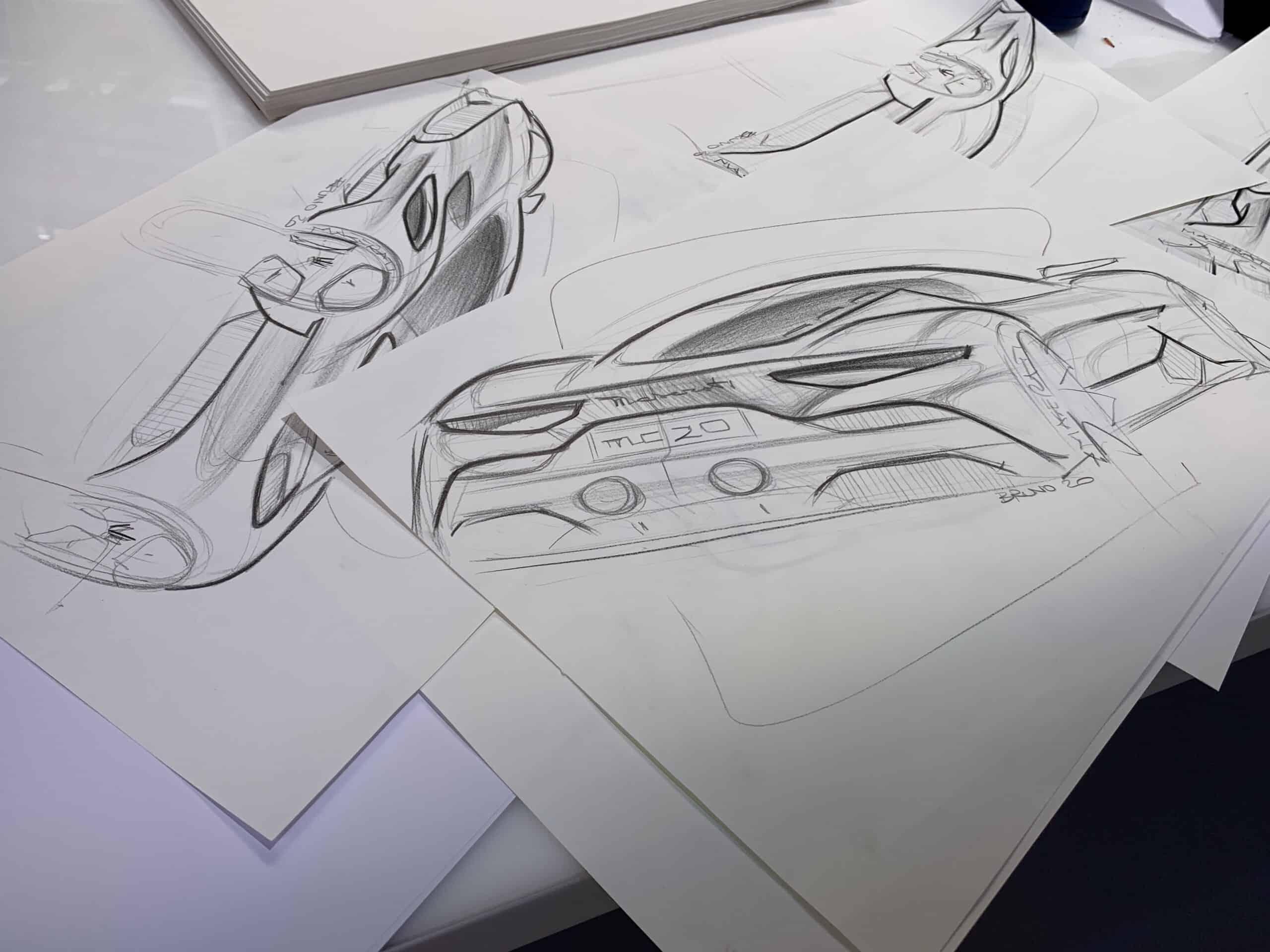 Weltpremiere für den neuen Supersportwagen MC20 in Modena