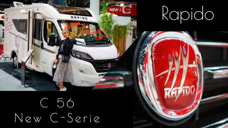 Rapido Wohnmobil Neuheiten 2021 I C56 Roomtour I New C-Serie I Caravan Salon Düsseldorf 2020