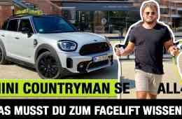 Mini Countryman Facelift (2020) Cooper SE ALL4 - Das musst DU wissen! Fahrbericht | Review | Test