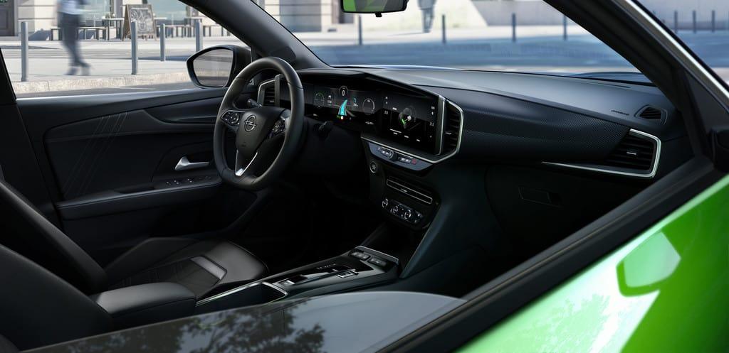 Beim Opel Mokka ist der Strom am stärksten , Innenraum