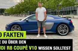 10 Fakten, die DU über DEN Audi R8 V10 Performance (620 PS) wissen solltest! - Fahrbericht | Review