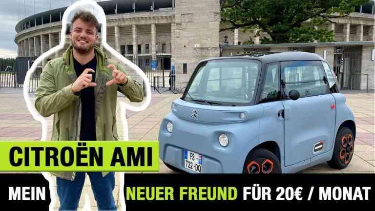 2020 Citroen Ami (8 PS) - Mein neuer kleiner Freund für 20€ im Monat? Fahrbericht | Review | Test