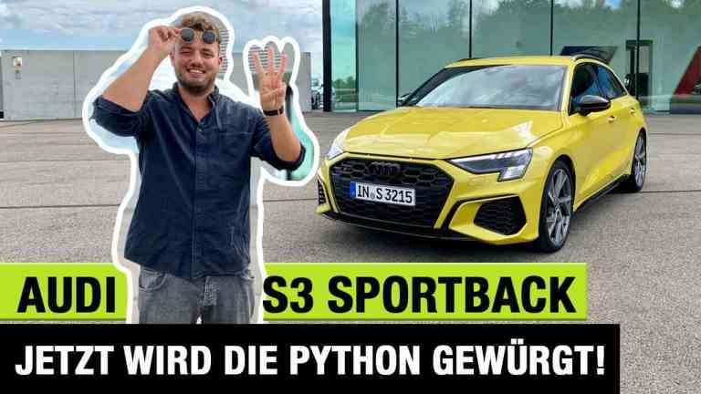 2020 Audi S3 Sportback (310 PS) - Jetzt wird die Python gewürgt! - Fahrbericht | Review | Test