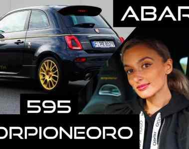 Readytogold - Abarth 595 Scorpioneoro , NinaCarMaria
