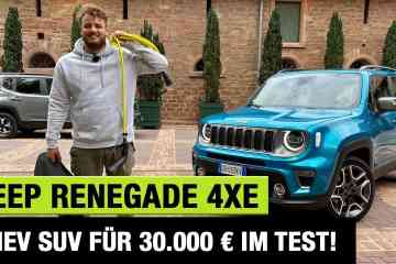 """2021 Jeep Renegade 4xe """"Limited"""" (190 PS) - PHEV-SUV für 30.000 € im Test! - Fahrbericht 