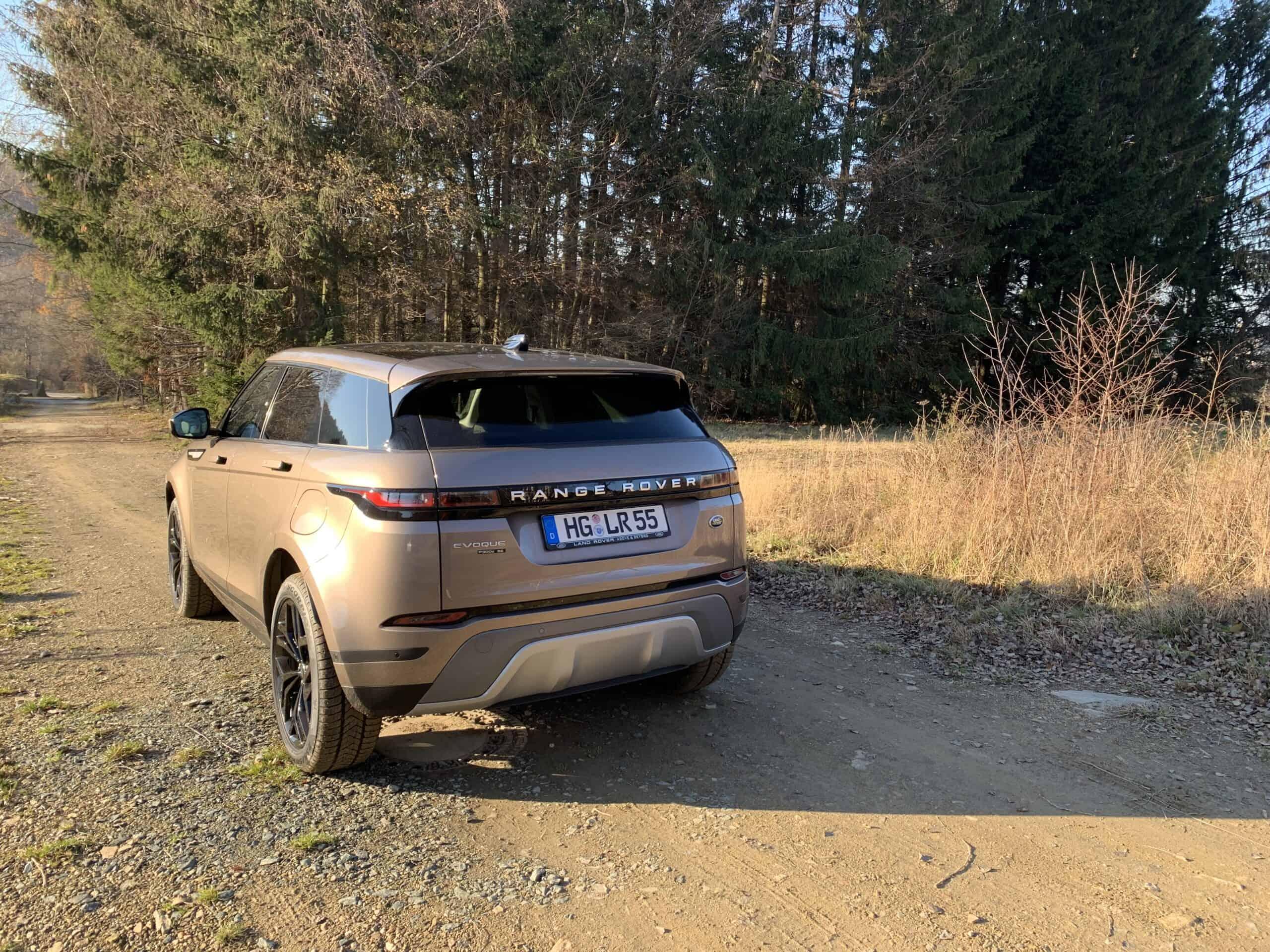 Range Rover Evoque PHEV (2021) - Kompaktes Design-SUV mit Plug-in-Hybrid-Antrieb