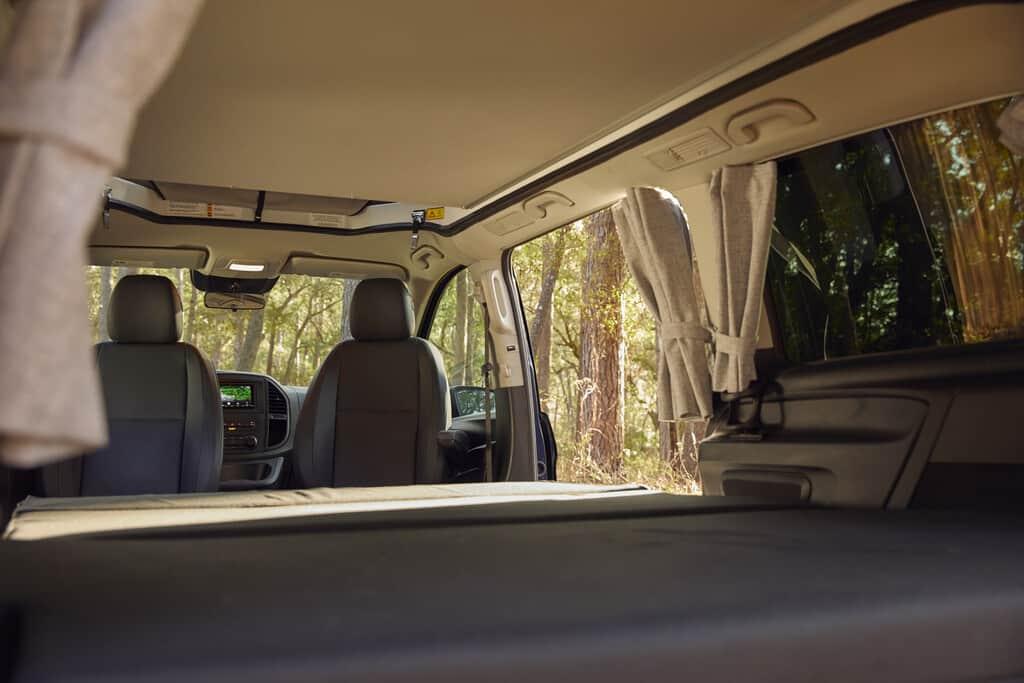 Nun kann der Mercedes-Benz Vito auch in den USA campen