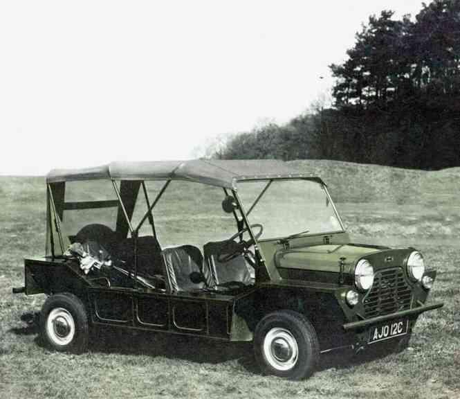 Australischer Morris Mini Moke (1966).