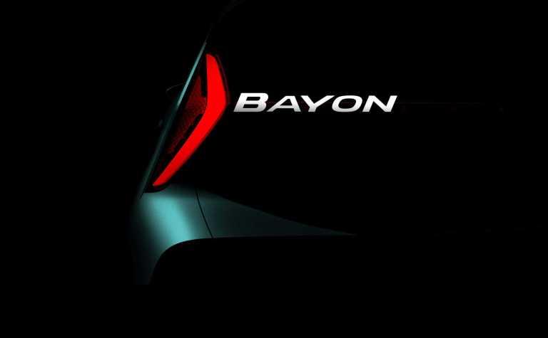 Hyundai hat ein B-Sgement-SUV namens Bayon angekündigt.