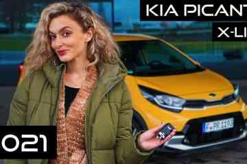 Kia Picanto Facelift 2021 (84 PS) - X-line vs. GT - Mein Innenraum-Check I POV