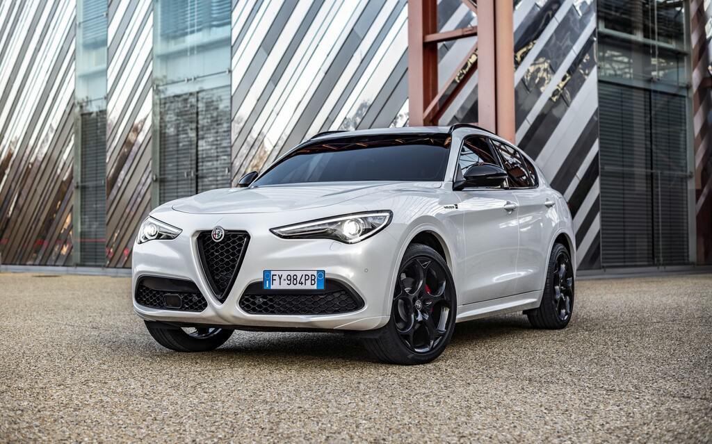 Alfa Romeo Stelvio Veloce Ti.