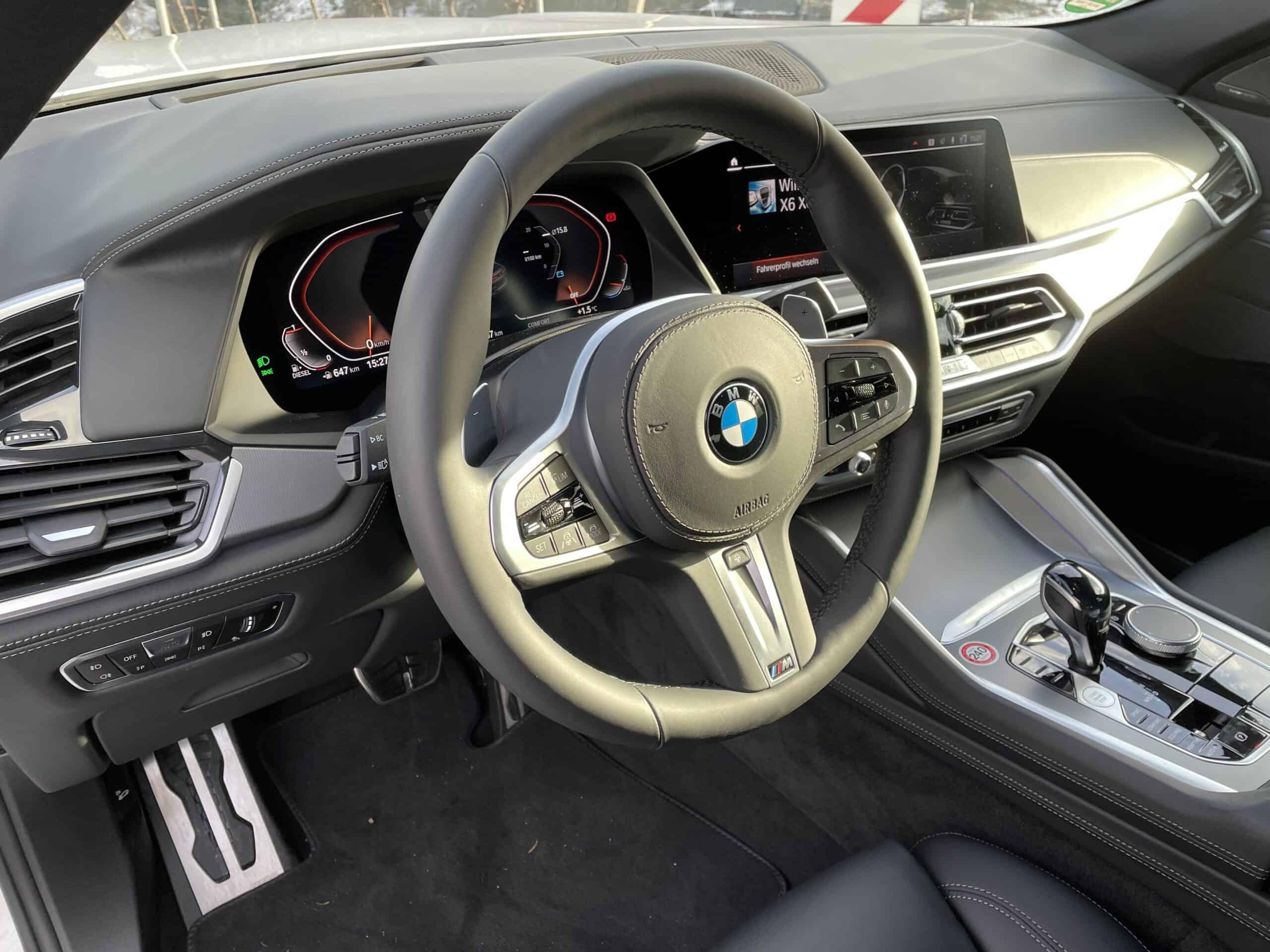 BMW X6 Diesel 3.0 Mild-Hybrid (2021), Cockpit