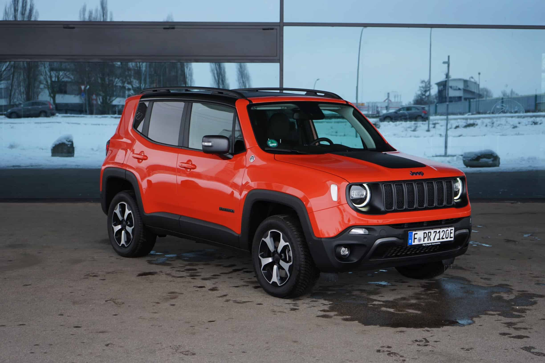 Offroad-Skills des Jeep Renegade Trailhawk Plug-in Hybrid (2021) I Test I Geländekünstler?