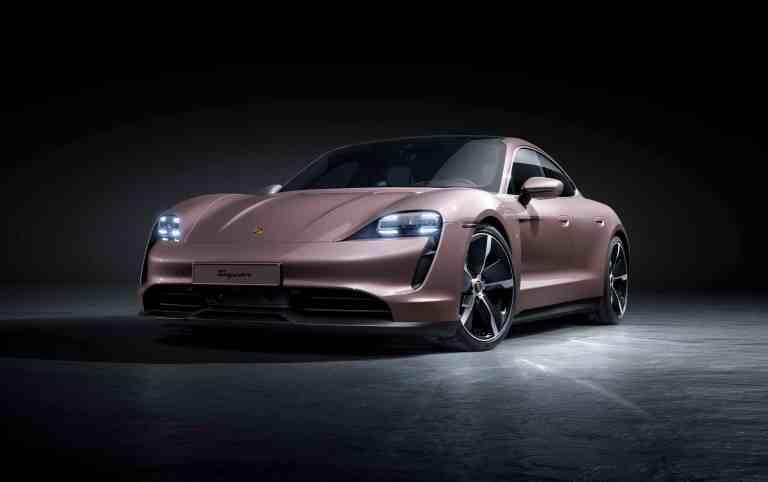 Porsche speckt den Taycan ab