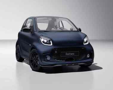Smart EQ Fortwo Edition Bluedawn.