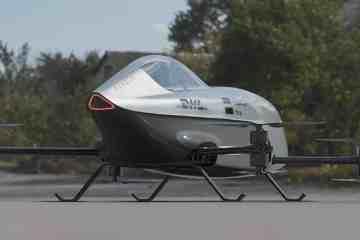 Der Airspeeder ist nach dreijähriger Entwicklung startklar. © Airspeeder
