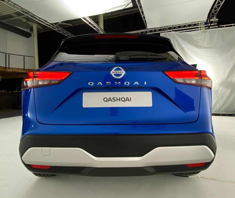 Nissan Qashqai 2021, Heck