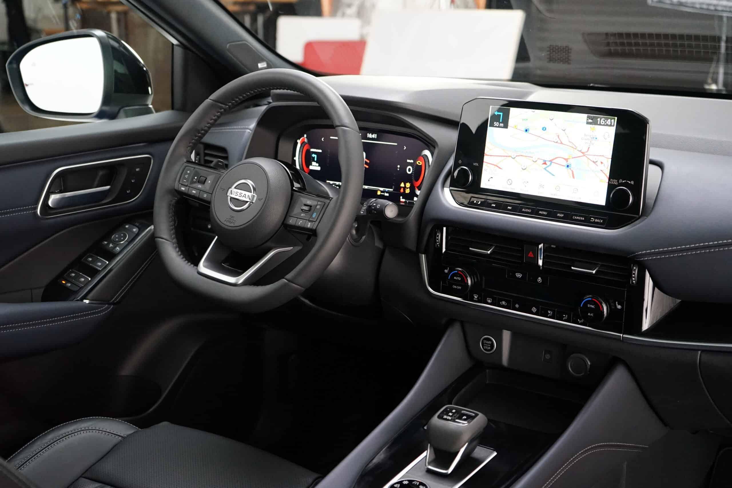 Nissan Qashqai 2021, Cockpit