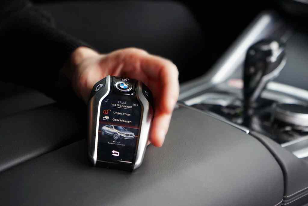 BMW X6 (2021), Schlüssel