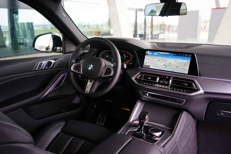 BMW X6 xDrive 30d, innen