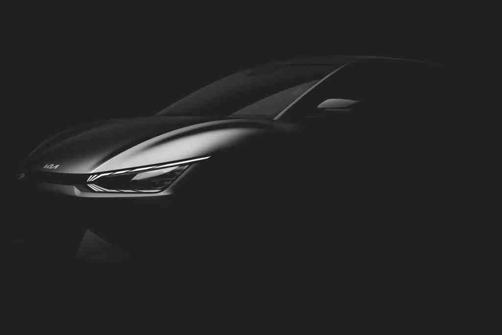 Kia will auf sein neues Elektromodell EV6 neugierig machen