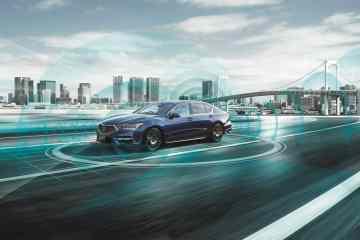 Honda Legend Hybrid EX mit automatisierten Level 3-Fahrfunktionen.