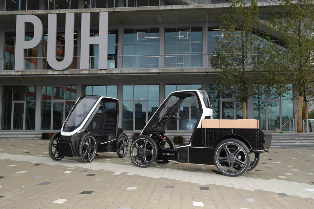 Lasten-Pedelec Pick-up von Bio-Hybrid.